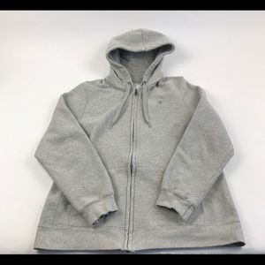 Champion Eco Zip Hoodie Sweatshirt Women's XL